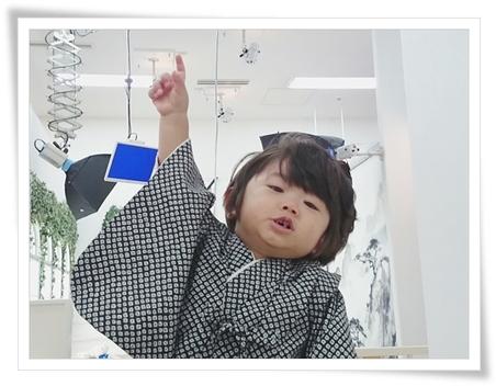 ユラ 1歳の記念写真撮影☆