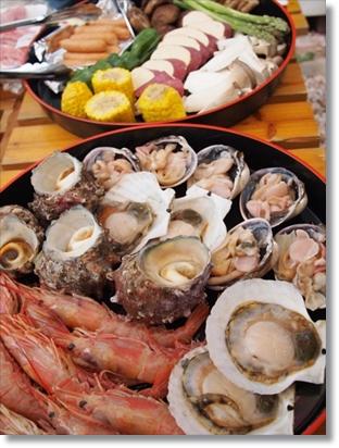 魚介類と野菜♪