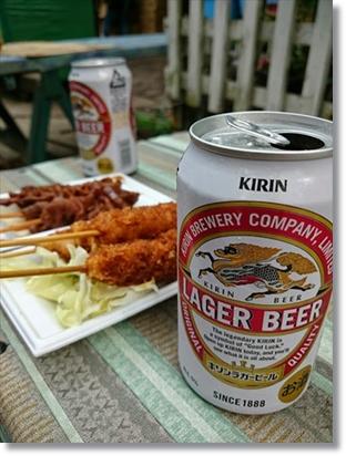 オトナはビールで乾杯☆