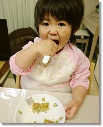 食欲旺盛なユラ(^^;