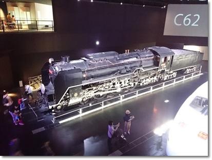 C62形式 蒸気機関車